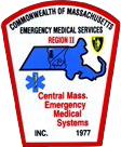 central mass emergency medical system patch